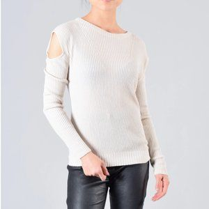 Feel The Piece Terre Jacobs Cream Sweater